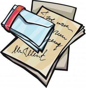 Letter clip art